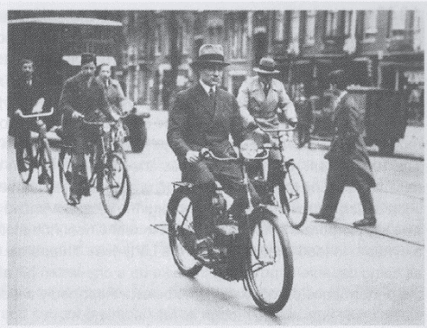 The Phillips-Simplex E-Bike from 1932
