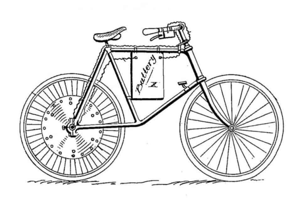 Ogden Bolton Junior's 1895 Electric Bike Design