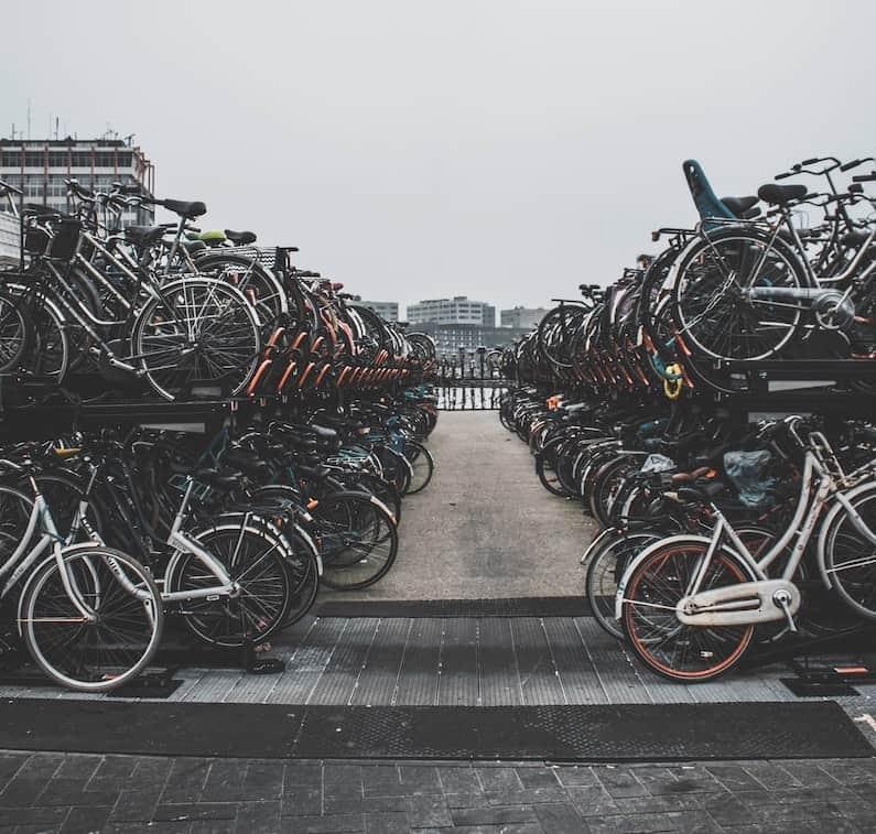 Bike Storage Amsterdam | eBikeBible.com